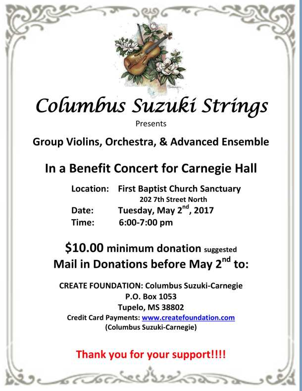Columbus Suzuki Strings Benefit Concert 5