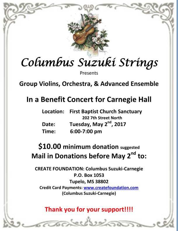 Columbus Suzuki Strings Benefit Concert 5
